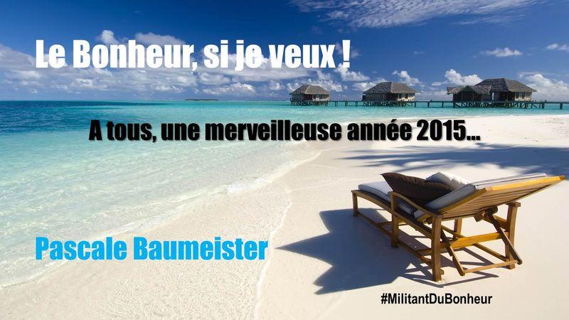 Année 2015 Bonheur PBaumeister